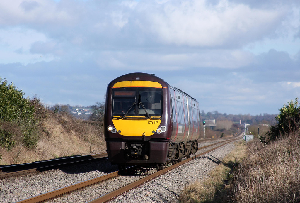 170117, Nottingham-Cardiff Central, Woolaston, near Lydney, 14-2-11.