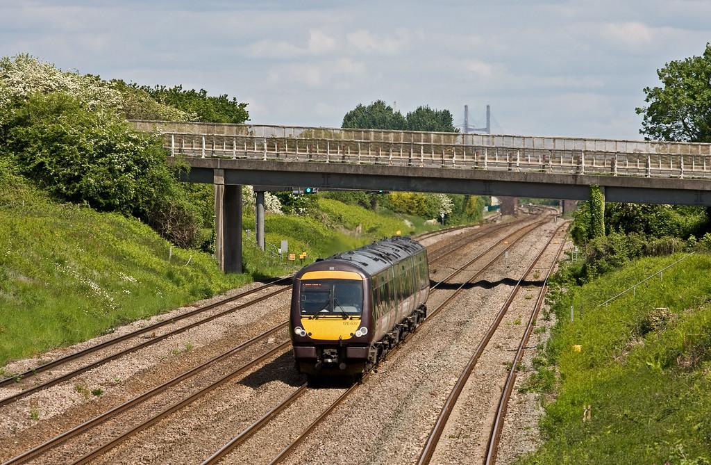 170637, 12.10 Nottingham-Cardiff Central, Llandevenny, near Llanwern, 24-5-16.