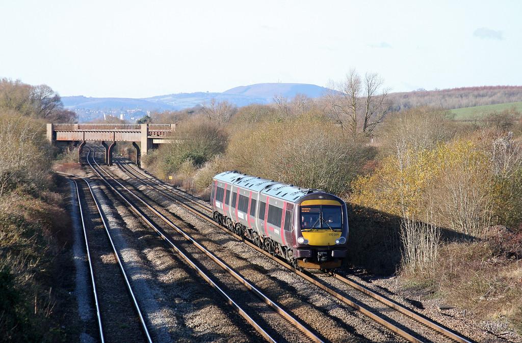 170398, 11.45 Cardiff Central-Nottingham, Llandevenny, near Llanwern, 5-12-12.