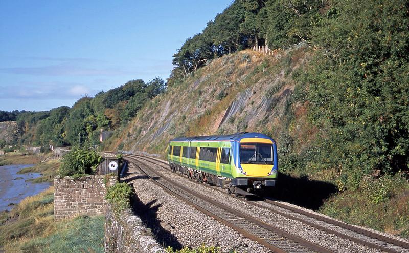 170521, Cardiff Central-Nottingham, Gatcombe, near Lydney, 23-9-03.