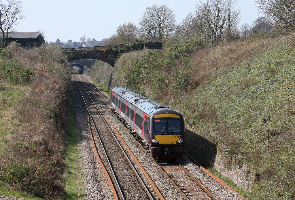 170109, 11.45 Cardiff Central-Nottingham, Sedbury Lane, Chepstow, 29-3-12.