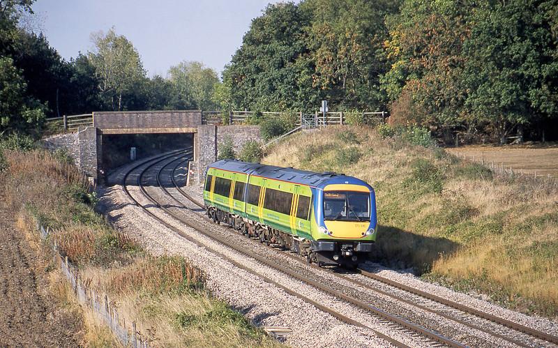 170516, Nottingham-Cardiff Central, Besford, near Evesham, 1-10-03.