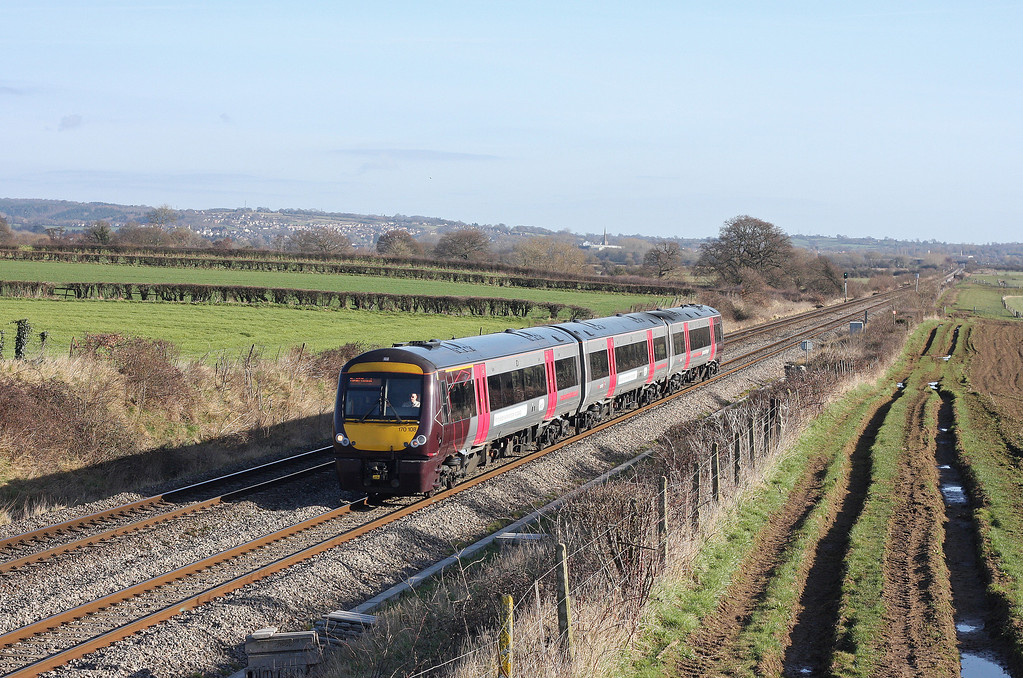 170108, Nottingham-Cardiff Central, Woolaston, near Lydney, 25-2-12.