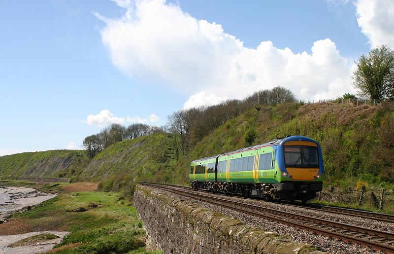 170520, 12.45 Cardiff Central-Nottingham, Gatcombe, near Lydney, 19-4-04.