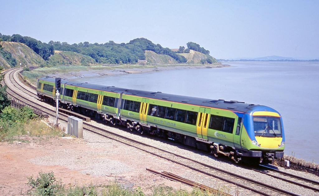 170637, Nottingham-Cardiff Central, Purton, near Lydney, 14-7-03.