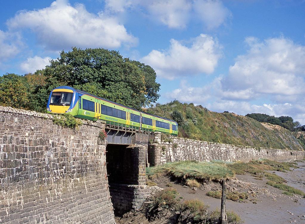170518, Nottingham-Cardiff Central, Purton, near Lydney, 23-9-03.