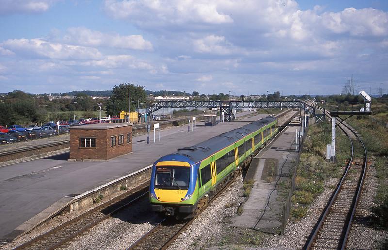 170637, Nottingham-Cardiff Central, Severn Tunnel Junction, 24-9-02.