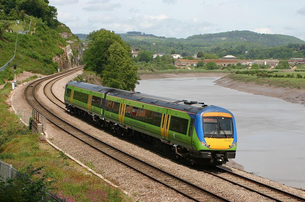 170503, Nottingham-Cardiff Central, Gatcombe, near Lydney, 29-5-04.