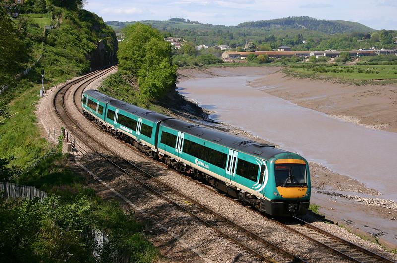 170110, Nottingham-Cardiff Central, Bulwark, Chepstow, 6-5-05.