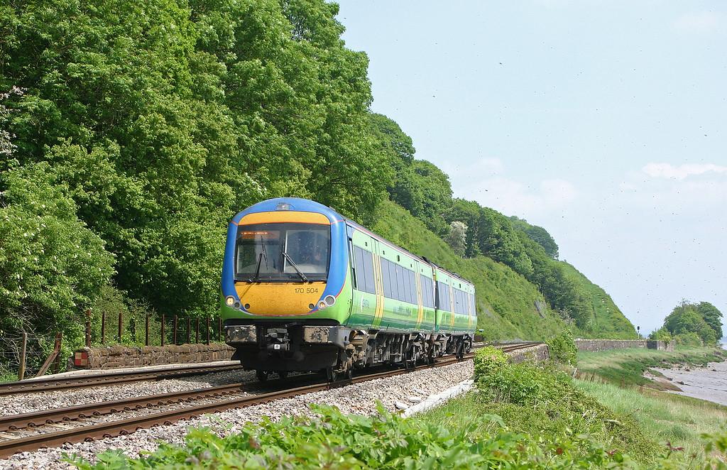 170504, Nottingham-Cardiff Central, Gatcombe, near Lydney, 18-5-04.