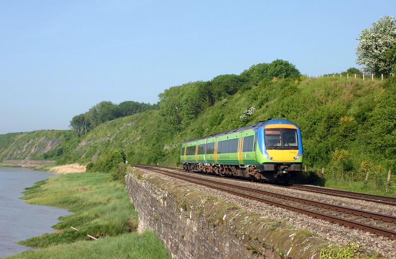 170502, 07.45 Cardiff Central-Nottingham, Gatcombe, near Lydney, 18-5-04.