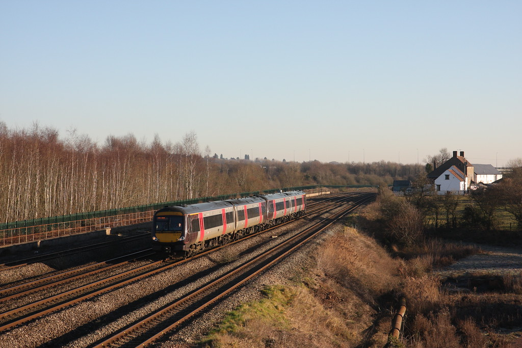 170519/170523, 07.04 Nottingham-Cardiff Central, Undy, 20-1-17.