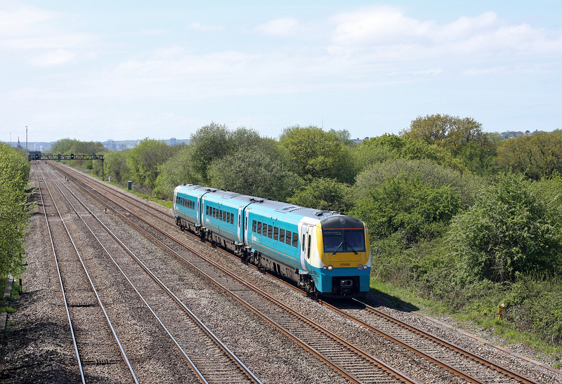 175102, eastbound, St Mellons, Cardiff, 8-5-12.