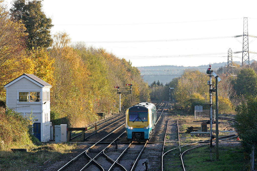 175011, northbound, Abergavenny, 5-11-12.