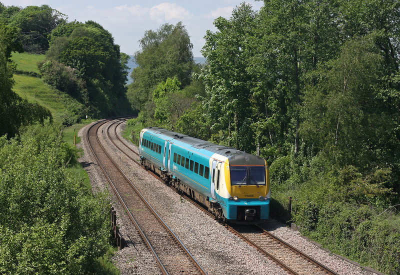 175006, 11.30 Manchester Piccadilly-Carmarthen, Ponthir, near Newport, 29-5-12.