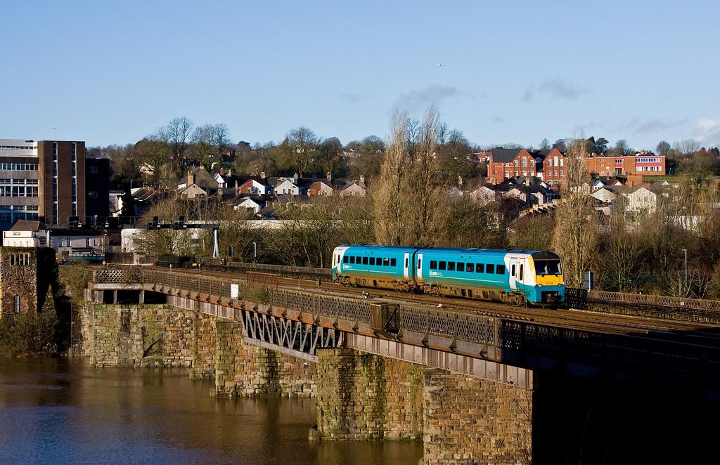 175006, 09.21 Cardiff Central-Holyhead, Newport, 4-2-14.