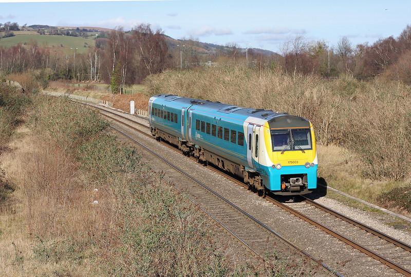 175003. southbound, Panteg, near Cwmbran, 25-2-12.