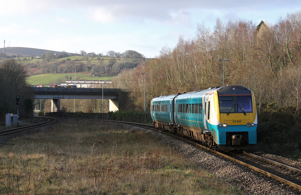 175008, northbound, Pontypool and New Inn, 7-1-12