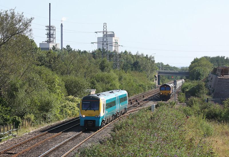 175005, northbound, 66113, 10.47 Hayes-Moreton-on-Lugg, Panteg loop, near Pontypool, 5-9-12.