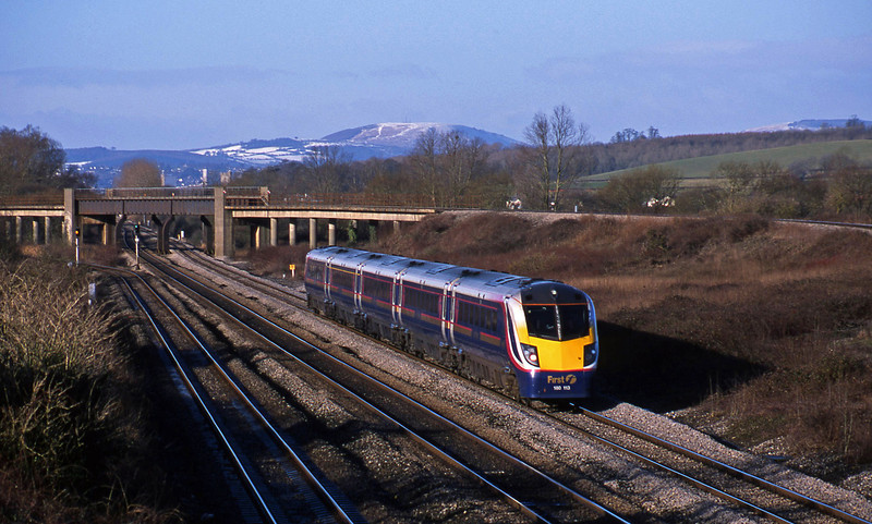 180113, Cardiff Central-London Paddington, Llandevenny, near Llanwern, 4-2-03.