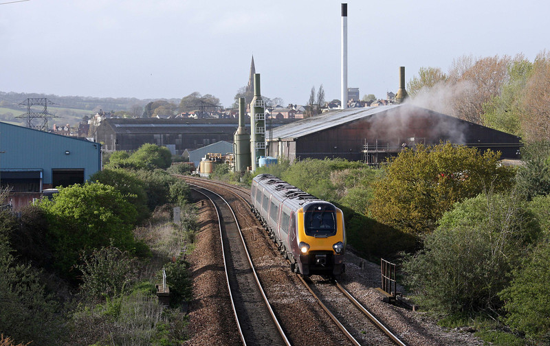 221, 09.00 Glasgow Central-Penzance, Marsh Barton, Exeter, 17-4-12.