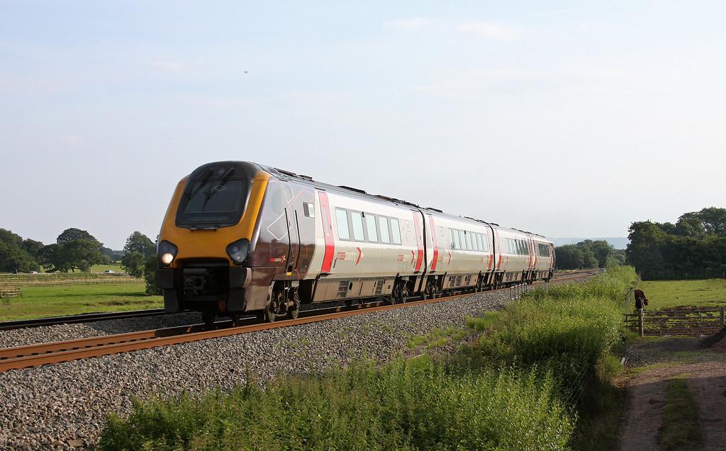 220008, northbound, Pugham Crossing, near Burlescombe, 21-7-12.