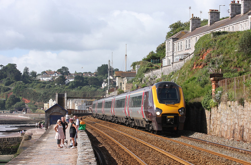 221130, northbound, Dawlish, 30-8-12.