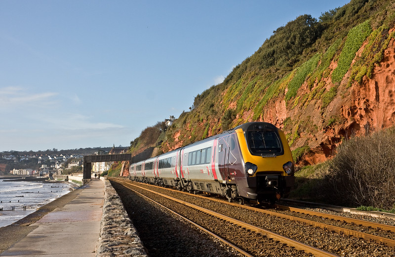 221123, 10.07 Paignton-Manchester Piccadilly, Dawlish, 15-2-18.