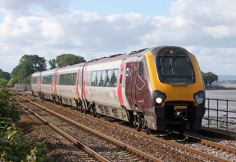 220001, 14.07 Manchester Piccadilly-Paignton, Powderham, near Starcross, 28-6-12.