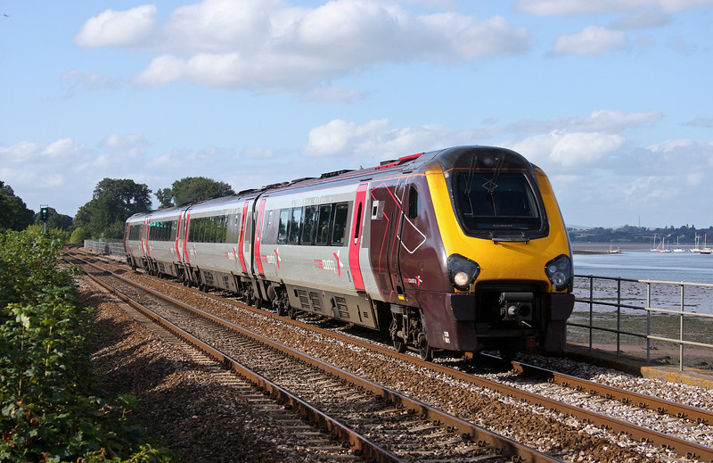 220001, 16.15 Bristol Temple Meads-Plymouth, Powderham, near Starcross, 21-8-11.