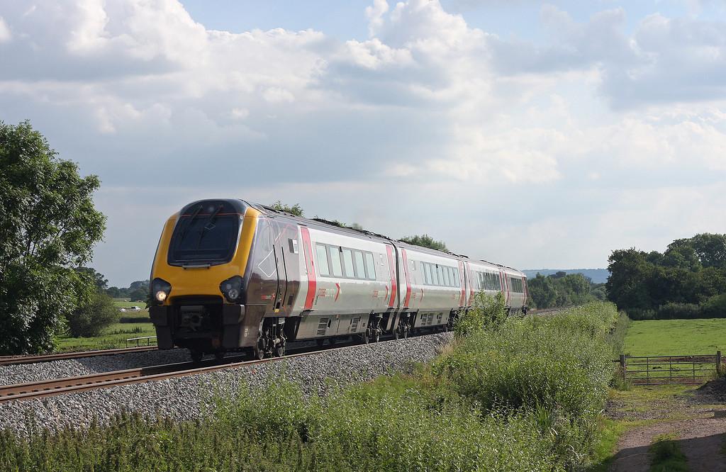 220029, niorthbound, Pugham Crossing near Burlescombe, 13-7-11.