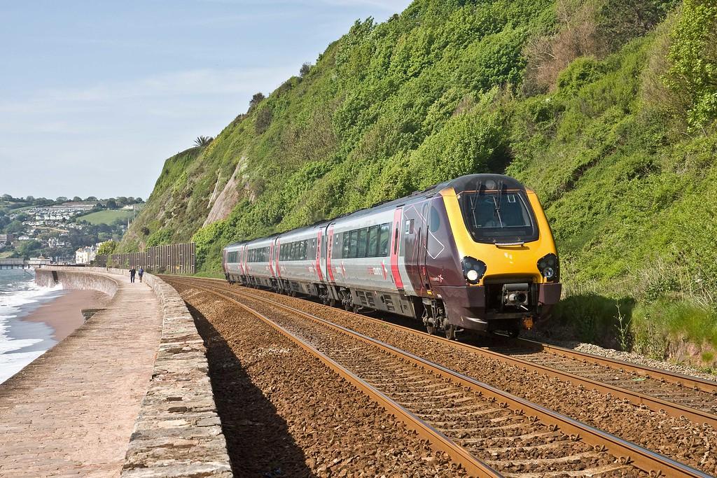 220, 09.25 Plymouth-Aberdeen, Sprey Point, Teignmouth, 17-5-18.