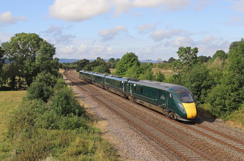 802015, 07.48 Paignton-London Paddington, via Bristol Temple Meads, Cogload Junction, 29-7-19
