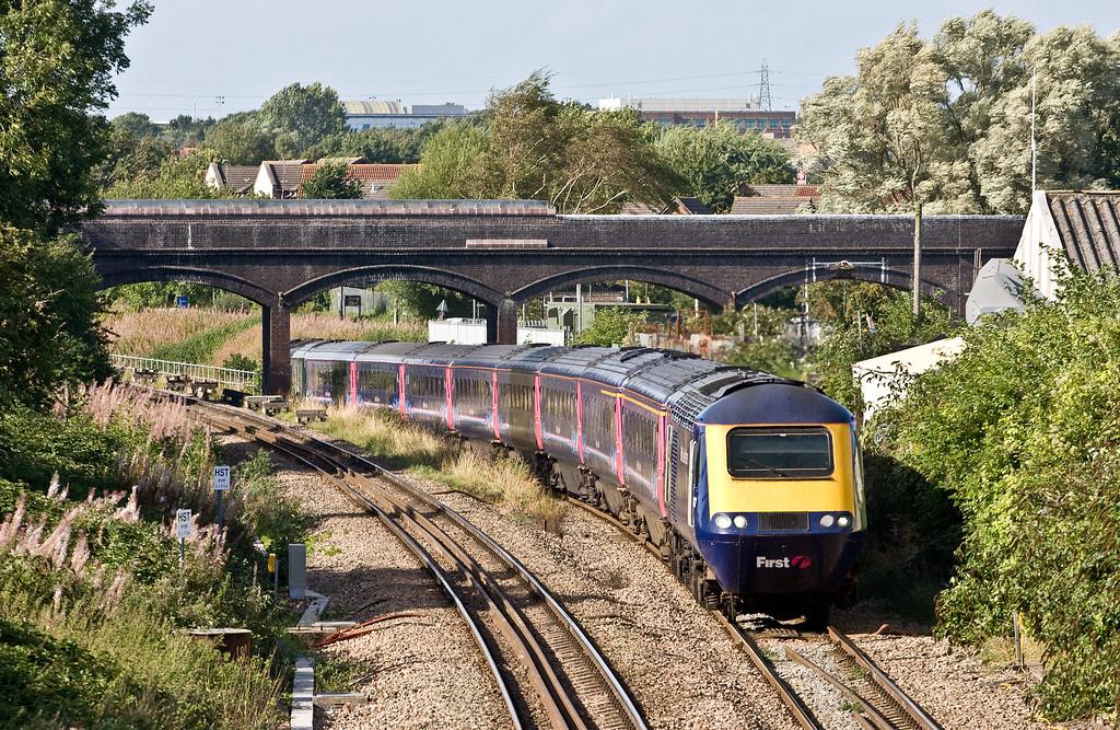 43012/43041, 14.28 Swansea-London Paddington, Patchway, Bristol, 8-9-16.
