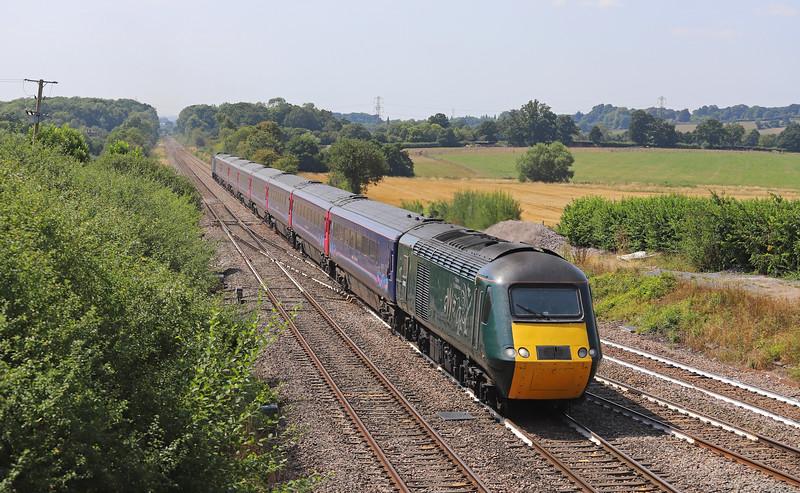 43188/43133, 10.00 Penzance-London Paddington, Fairwood Junction, Westbury.