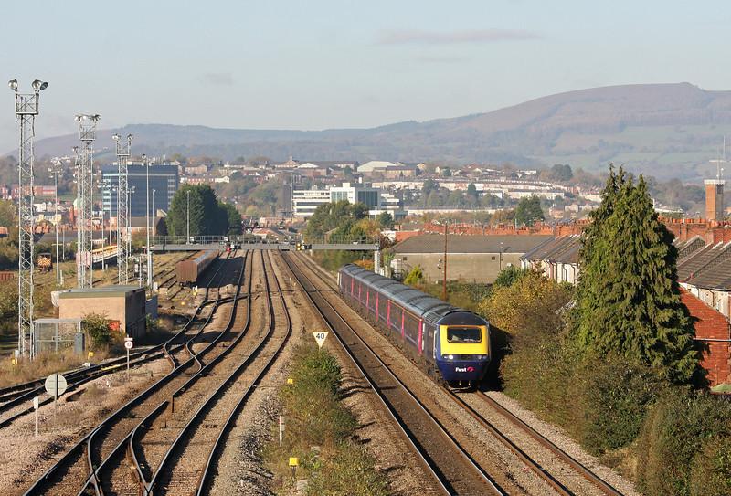 43124/43125, 08.28 Swansea-London Paddington, Somerton, Newport, 5-11-12.