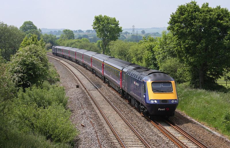 43153/43, 11.55 Exeter St David's-London Paddington, Willand, near Tiverton, 2-6-10.