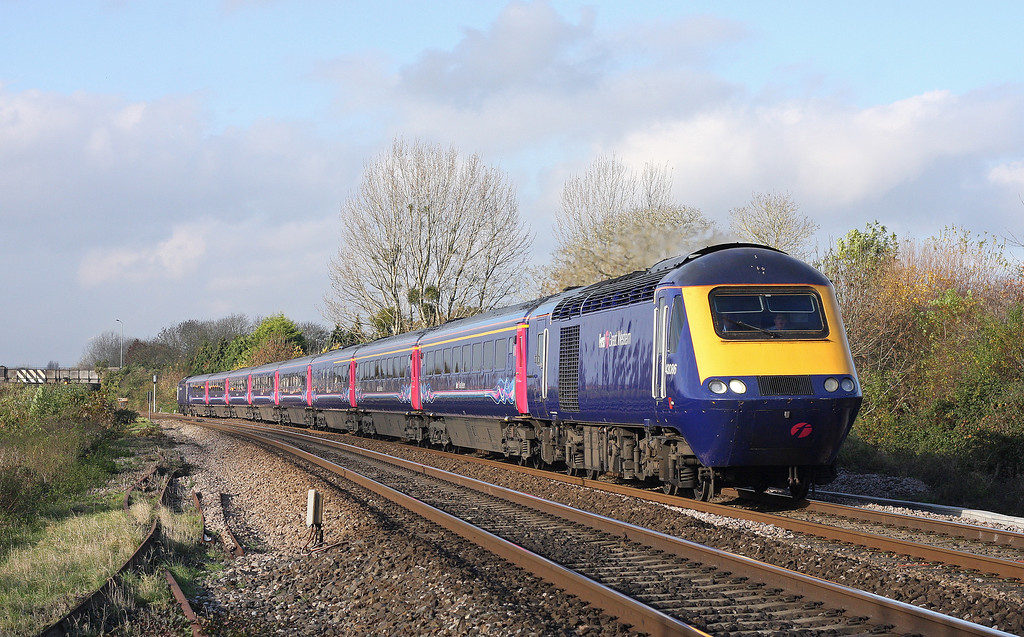 43086/43153, 06.45 Penzance-London Paddington, Bathpool, Taunton, 14-11-12,
