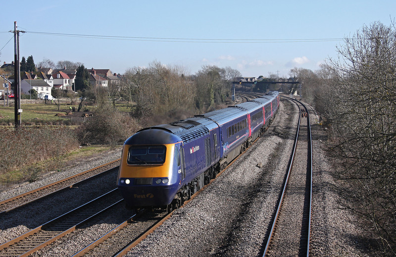 43144/43, 09.45 London Paddington-Swansea, Magor, 1-3-10.