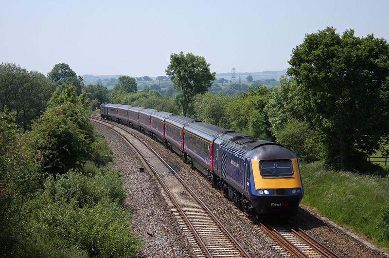 43128/43, 11.55 Exeter St David's-London Paddington, Willand, near Tiverton, 4-6-10.