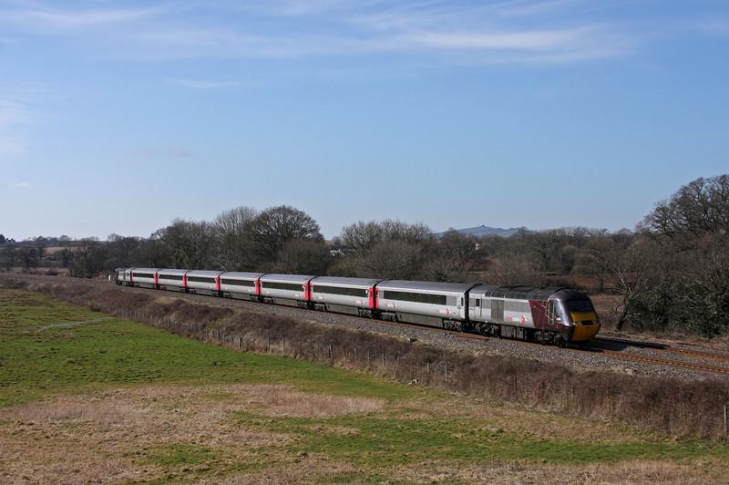 43/43366, 06.08 Edinburgh-Plymouth, Silverton, near Exeter, 4-3-10.
