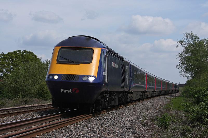 43034/43, 12.06 London Paddington-Penzance, Bathpool, Taunton, 10-5,10.