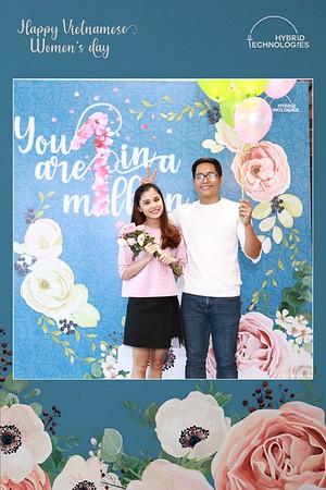 Hybrid Technologies | Vietnamese Women's Day 20/10 instant print photo booth | Chụp ảnh lấy liền Ngày Phụ Nữ Việt Nam 20/10 | Photobooth Saigon