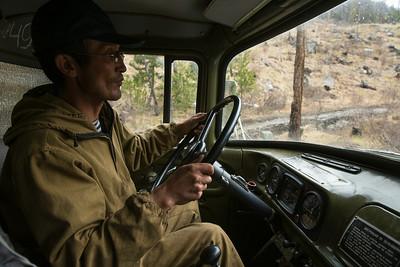 Truck ride/Altai/Russia