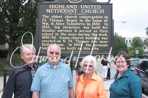 HUMC Historical Marker Dedication