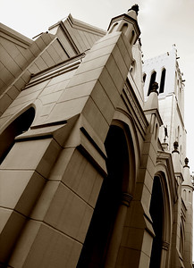 This is a church on St. Charles and is one of the very first Protestant churches in New Orleans. It is 130 years old.
