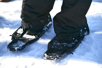 Special Olympics Snow Shoe Competition