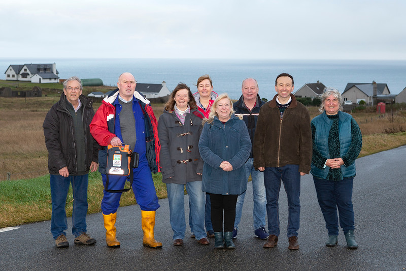 Mike Shailes, Iain Macleod, Alison Musty, Kathleen MacLeod, Sue Hales, Iain MacLeod, Mark Musty and Deborah Ford