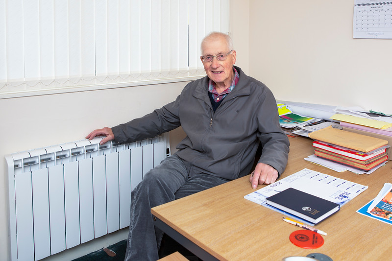 Radiators funded by Point & Sandwick Trust