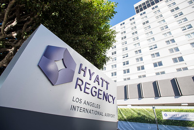 HYATT Regency Ribbon Cutting & Staff Group Photos